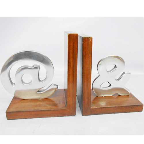 Aluminum @ Signs Bookend