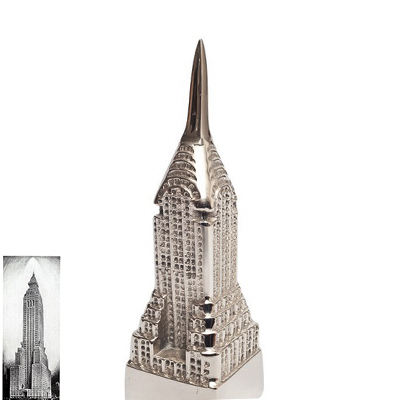Aluminum Chrysler Tower