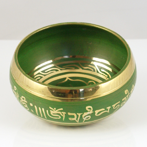Singing Bowl Green