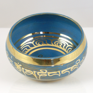 Singing Bowl Blue